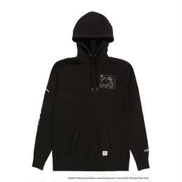 JOYRICH x Keith Haring Patch Hoodie / BLACK