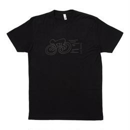 """Keith Haring Unisex T-Shirts """"Speed Bicycle """" Black キース・ヘリング ユニセックス Tシャツ ブラック"""