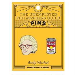 Warhol & Soup Can PINS