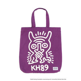 Keith Haring Tote Bag / PURPLE