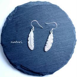 【plume】sv925 feather pierce (2pcs)