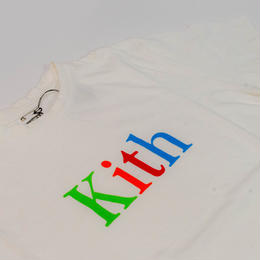 KITH LAUNCHES NEW LOGO TEES WHIRE <XS>