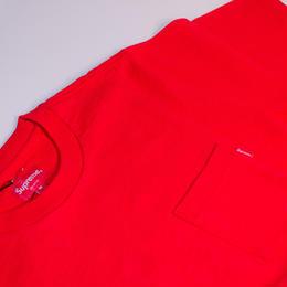 Supreme ポケ付きTシャツ(レッド)
