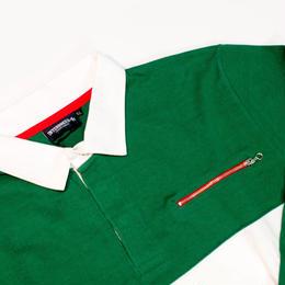 INTERBREED インターブリード ラガーシャツ GREEN