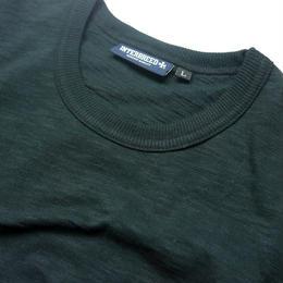 INTERBREED SLAB COTTON POCKET TEE GREEN <L , XL>