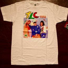 "CROSS COLOURS ""TLC"" S/S T-shirts White"