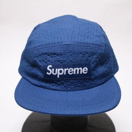 supreme TONAL SEERSUCKER CAMP CAP BLUE