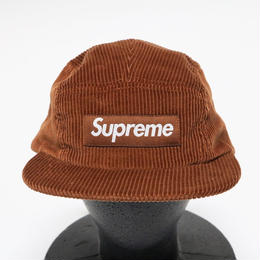 supreme Corduroy Camp Cap TAN
