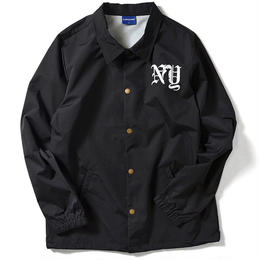 Lafayette  RUN NYC NYLON COACH JACKET  BLACK