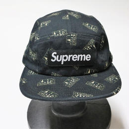 supreme 2017SS SHIT CAMP CAP BLACK