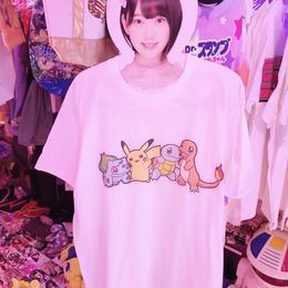 ピカチュウと仲間たちBIGTシャツ/select