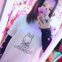 ゆめときぼううさたんTシャツ/ねおりぼんオリジナル