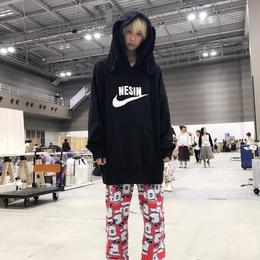 NESINロゴ闇の兎BIGパーカー/HOMELESS PARTY.×NESIN