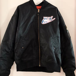 NESINロゴ MA-1ジャケット/NEOUSED×NESIN