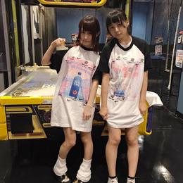 pauline marxラグランBIGTシャツ