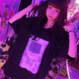 スケルトンゲームボーイ BIGTシャツ/Internet gang city