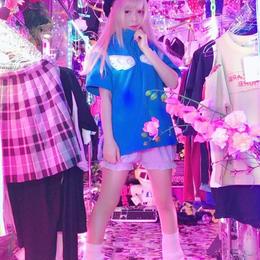 サイドファー天使の羽根ハイネックジャージ/魔法都市東京×HOMELESS PARTY.