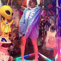 神の日章旗モコモコセーラーBIGトレーナー/魔法都市東京