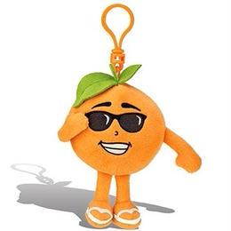 オレンジの香り【 WhifferSniffers 】エアーフレッシュナー 芳香剤  香る ぬいぐるみ アメリカンキャラクター キーホルダー