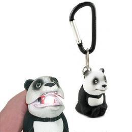 【パンダ】口を開ければ光を放ち闇夜を照らすお役立ち【アニマルライト】