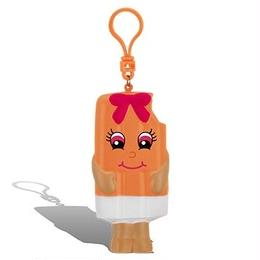 オレンジ ポップ アイスクリームの香り 低反発【 WhifferSquishers 】 スクイーズ エアーフレッシュナー 芳香剤 香り付 ぬいぐるみ アメリカンキャラクター キーホルダー ストレス解消
