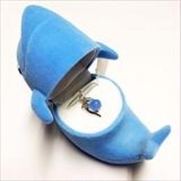 【 イルカ 】Wildlife Garden アニマルペンダント 愛しい ベロアボックス ♡ ユニークな動物たち ペンダント 40cm アジャスタ付