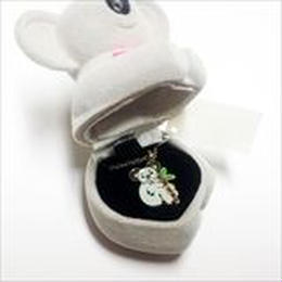 【コアラ】Wildlife Garden アニマルペンダント 愛しい ベロアボックス ♡ ユニークな動物たち ペンダント 40cm アジャスタ付