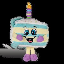 バースデーケーキの香り【 SuperSniffers 】  香る ぬいぐるみ アメリカンキャラクター 芳香剤 エアーフレッシュナー  【 WhifferSniffers 】