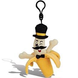 バナナの香り【 WhifferSniffers 】エアーフレッシュナー 芳香剤  香る ぬいぐるみ アメリカンキャラクター キーホルダー