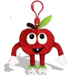 りんごの香り【 WhifferSniffers 】エアーフレッシュナー 芳香剤  香る ぬいぐるみ アメリカンキャラクター キーホルダー