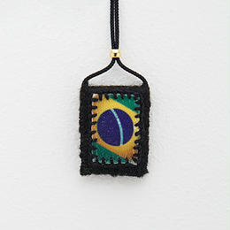 WORLD charm / Brazil (Black)