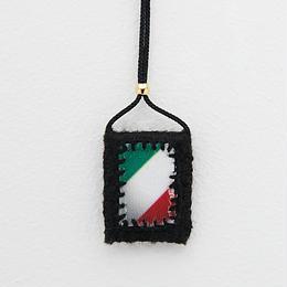 WORLD charm / Italy (Black)