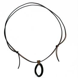 hook _ black necklace