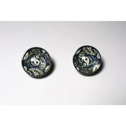 paisley _ navy pierce / earring
