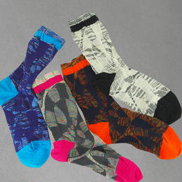 【nonnette】Ammonite  Socks NS200Y- 4 color