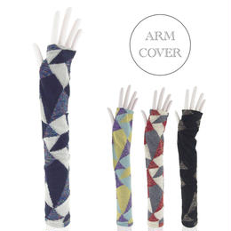 【nonnette】 Patchwork  Arm cover  NR06M