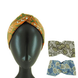 【nonnette】Pineapple  Headbands  HH03Y- 3 color