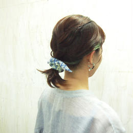 【nonnette】Pineapple Hair accessory-chouchou  HCho03Y- 3 color