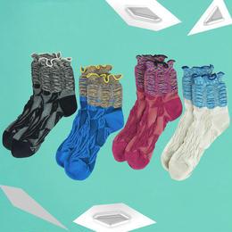 【nonnette】Color frills  Socks NS186G