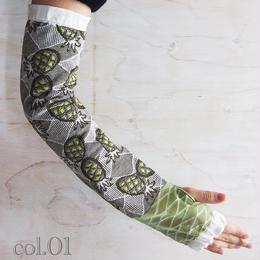 【nonnette】Pineapple  Arm cover  NR03Y- 3 color