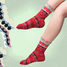 【nonnette】Like a wing  Socks NS189Y
