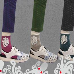 【nonnette】Octopus  Socks NS195R
