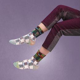 【nonnette】Aurora view  Socks NS201Y- 4color