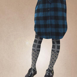 【nonnette】Plaid Tights NT103T- 4color