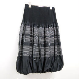 【大人のおしゃれ手帖8月号掲載】【芽風】スカート(07225008)