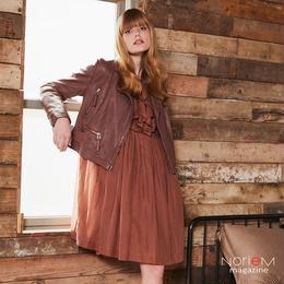 【ALYSI】(08255005)ドレス NorieM magazine #34 P38掲載