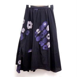 【大人のおしゃれ手帖7月号掲載】【慈雨】スカート(07222202)