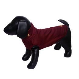Bordeaux Wool Knit High Neck Tank top <M~M/L>