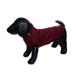 Bordeaux Wool Knit High Neck Tank top <SS ~ S/M>