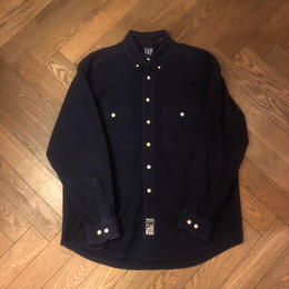 "90's  ""OLD GAP"" シャモアクロスシャツ"